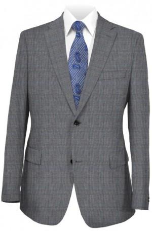 Michael Kors Gray Pattern Tailored Fit Suit #K2Z0962