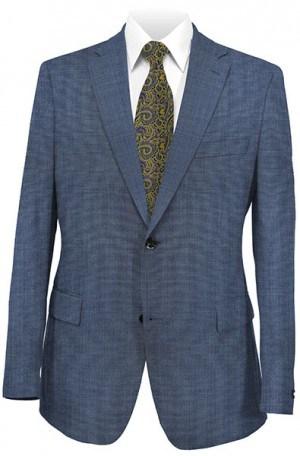 Michael Kors Blue Sharkskin Tailored Fit Suit K2Z1135
