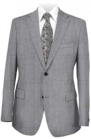 Michael Kors Silver-Gray Tailored Fit Suit #K2Z1224