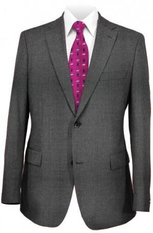 Michael Kors Charcoal Peak Lapel Tailored Fit Suit K2Z1551