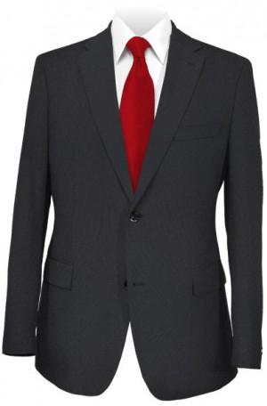 Michael Kors Black Solid Color Tailored Fit Suit #K2Z1552
