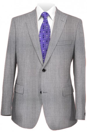 Michael Kors Light Gray Tailored Fit Suit #K2Z2002
