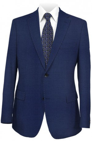 Michael Kors Blue Solid Color Slim Fit Suit #K2Z2080