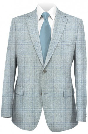 Michael Kors Gray Pattern Tailored Fit Sportcoat #KNZ0000