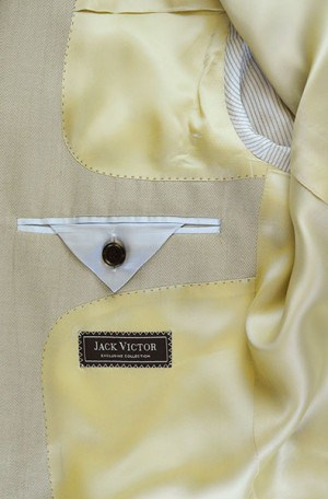 Jack Victor Off-White Suit #L0115