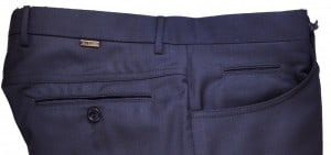 Pal Zileri Navy Dress Slacks #L3110X1-21001-01