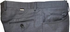 Pal Zileri Medium Gray Dress Slacks #L3110X1-21001-26