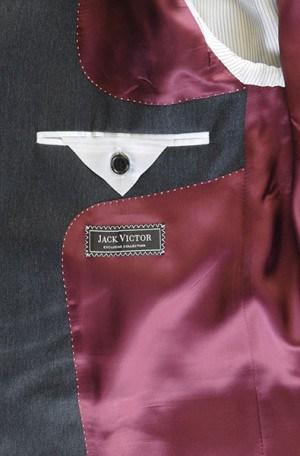 Jack Victor Charcoal Suit #L9214A