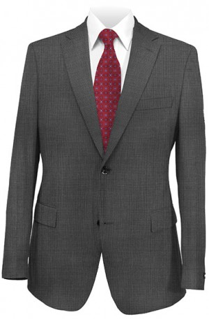 Andrew Marc Gray Fineline Slim Fit Suit #MAY0003