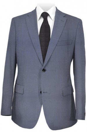 Andrew Marc Bright Navy Slim Fit Suit #MAY0013