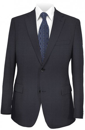 Mattarazi Navy Windowpane Suit #MS819-60