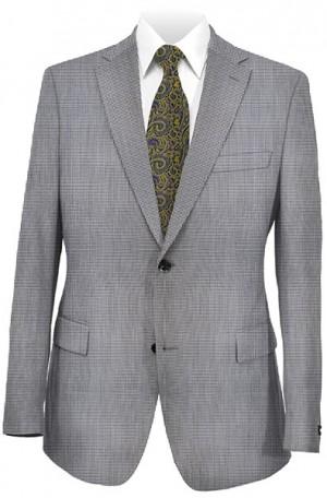 Tiglio Gray Pattern Tailored Fit Sportcoat OT330604-2