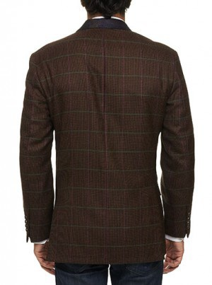 Robert Graham Brown Pattern Sportcoat #RF135011