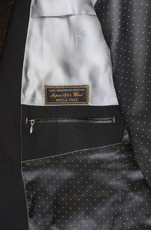 Tiglio Black & White Check Sportcoat RS13098-2.