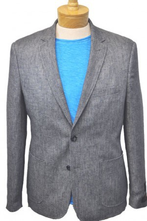 'Like No Other' Slim Fit Gray Sportcoat #S17010OLB