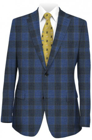 'Like No Other' Slim Fit Blue & Navy Sportcoat #S17033OLB
