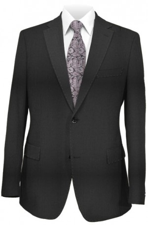 Blujacket Black Tailored Fit Suit #SKT001