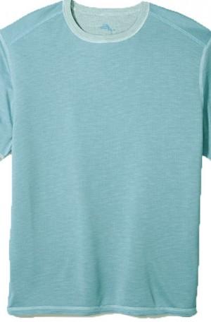 Tommy Bahama Blue Flip Tide Reversible Tee Shirt #T218029-15181