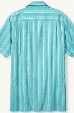 Tommy Bahama Blue Silk Camp Shirt T315922-5578