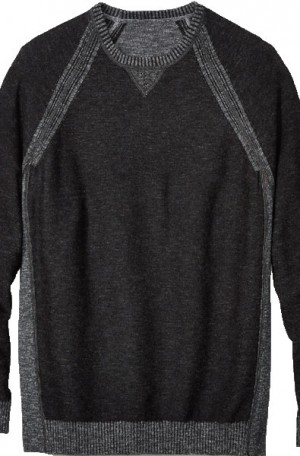 Tommy Bahama Gray-Black Reversible Sun Up Sun Down Sweater #T419613-054