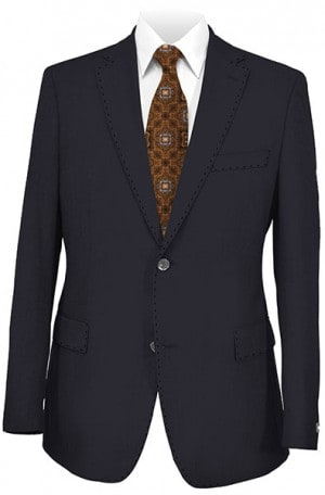 Tiglio Navy Tailored Fit Blazer TIG-1002