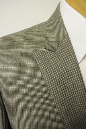 Tiglio Tan Birdseye Tailored Fit Suit TIG-1017