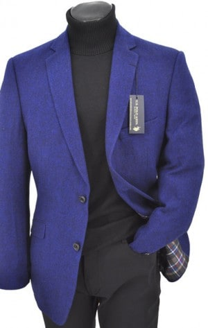 U.S. Polo Assn. Blue Tailored Fit Sportcoat TIM6094J