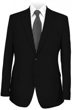 Gruppo Bravo Black Solid Color Suit #V83823-1