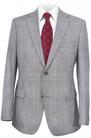 Gruppo Bravo Gray Pattern Suit #V83852-1