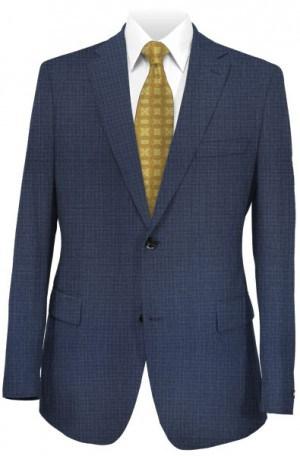 Varvatos Slim Fit Blue Tick Weave Suit VBW0371