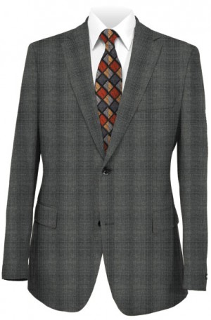 Varvatos Gray Pattern Slim Fit Suit VBW0401