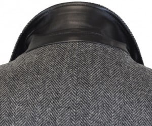John Varvatos 3/4 Length Gray Top Coat #VST0000