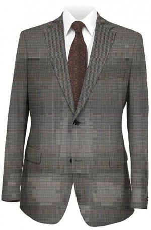 Hickey Freeman Blue Cjeck Sportcoat W3366147.