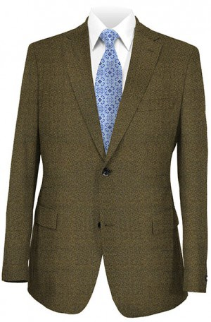 Mattarazi Olive Pattern Fall Weight Sportcoat #W432479