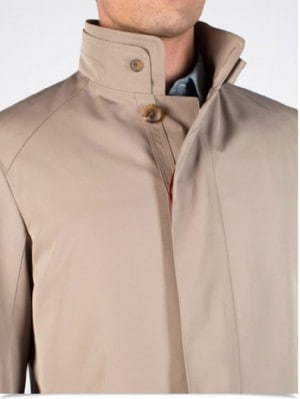 Sanyo Taupe 3-Season Coat #Z1A-11-015-45