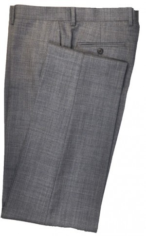 Ralph Lauren Ultraflex Medium Grey Sharkskin Pure Wool Separates