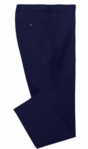 Ralph Lauren Ultraflex Solid Navy Pure Wool Separates  2MX0089