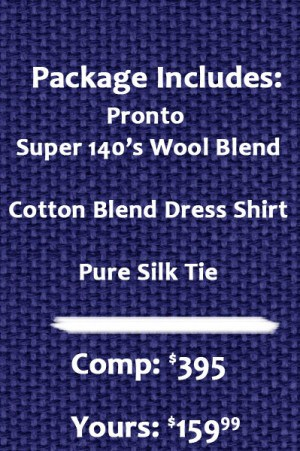 Pronto Suit Package