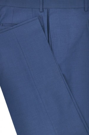 Calvin Klein Medium Blue Extreme- Slim Fit Suit Separates
