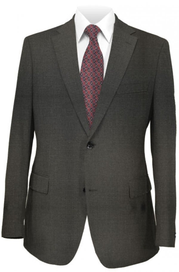 Hugo Boss Charcoal Grey Pure Wool Suit Separates Package