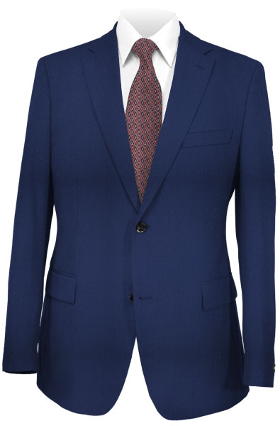 Montefino Navy Blue Pure Wool Suit Package